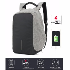Coupon Usb Charging Laptop Backpacks Sch**l Multifunction Waterproof Anti Theft Back Pack For Male Teenager Bags Intl