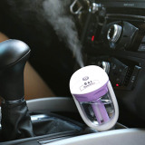 Low Cost Usb Port Charge Mini Car Automobile Air Humidifier Diffuser Essential Oil Ultrasonic Aroma Mist Purifier Air Freshener For Homes Air Mag Mist Maker Air Freshener Intl