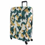 Coupon Ut Camo Printed Luggage Cover Ulc668 Green Small