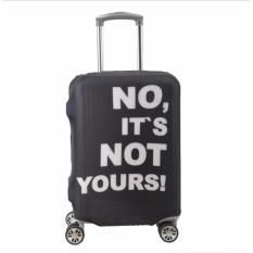 Discount Ut No ItメS Not Yours Luggage Cover Ulc5943 Black Small Singapore