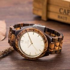 Uwood Eco Friendly Sandal Wood Japan Quartz Movement Waterproof Wooden Watch for Men Fashion Gift -