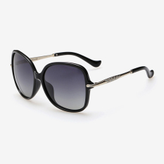 Veithdia 8802 Fashion Women S Brand Designer Sunglasses Polarized For Women Metal Uv400 Black Frame Grey Lens Export China