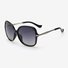 Veithdia 8802 Fashion Women S Brand Designer Sunglasses Polarized For Women Metal Uv400 Black Frame Grey Lens Export Coupon