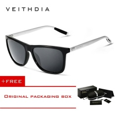 609c6f6b48 VEITHDIA Unisex Retro Aluminum+TR90 Sunglasses Polarized Eyewear  Accessories Sun Glasses Men Women 6108