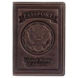 Villini 100 Leather Us Passport Holder Cover Case For Men Women In 8 Colors Discount Code