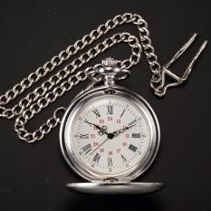 Who Sells Vintage Silver Men Women Quartz Pendent Pocket Watch Clock Chain Fashion Gift Wpk027 Intl Cheap