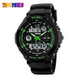 Vorstek Skmei 0931 Fashion Men Sports Watches Digital Analog Multifunctional Alarm Military Watch Green Intl On China