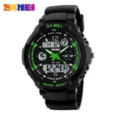 Where To Shop For Vorstek Skmei 0931 Fashion Men Sports Watches Digital Analog Multifunctional Alarm Military Watch Green Intl