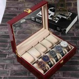 Buy Watches Display Organizer Case Wooden Storage Box 10 Grids Box Gift Box Intl On China