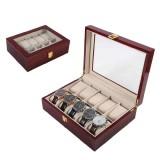 Buy Watches Display Organizer Case Wooden Storage Box 10 Grids Box Gift Box Intl Online