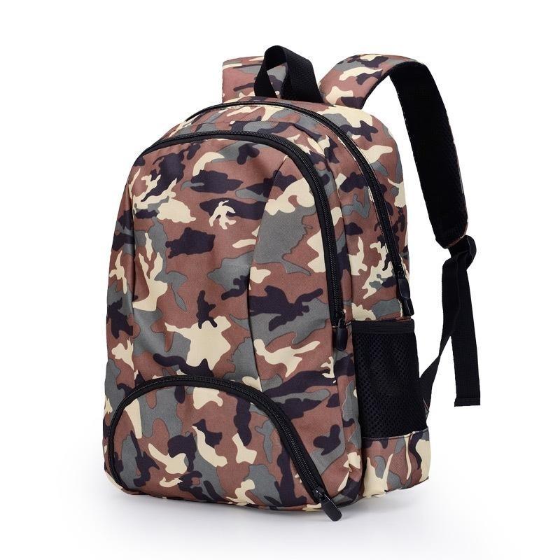 Waterproof Backpack Leisure Unisex Lightweight Camouflage School Bag for Boys & Girls (camouflage) - intl