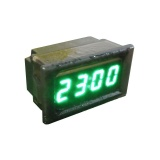 New Waterproof Car Motorcycle 12V 24V Dashboard Digital Led Display Clock Green Intl