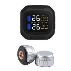 Buy Waterproof Motorcycle Tire Pressure Monitor System Real Time Monitoring Kit Intl Online