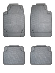 Weather Fortress Synthetic Rubber Mat X 4 Black Price Comparison