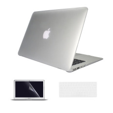 Welink 3 in 1 Apple MacBook Air 11 Case / Clear Crystal Case + Keyboard Cover + Screen Protector for Macbook Air 11 (Clear)
