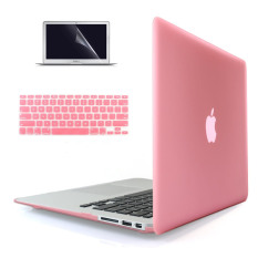 Discount Welink 3 In 1 Apple Macbook Air 11 Case Soft Touch Plastic Hard Case Cover Keyboard Cover Screen Protector For Macbook Air 11 Pink Welink On China