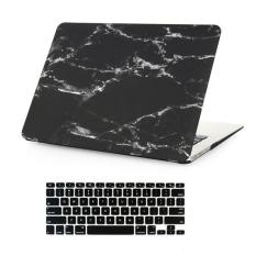 Welink 3 In 1 Apple Macbook Air 13 Case Marble Pattern Hard Case Anti Dust Plug Keyboard Cover For Apple Macbook Air 13 Models A1369 A1466 Black Lower Price