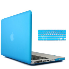 Welink 3 in 1 Matte Apple MacBook Pro 13 Case / Soft-Touch Plastic Hard Case Cover + Anti-dust Plug + Keyboard Cover for Macbook Pro 13 [Models:A1278] (Blue)