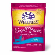 Best Offer Wellness Small Breed Complete Health Senior Turkey Peas Recipe Dry Food For Dog