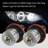 White Led Bulbs For Bmw Angel Eyes Halo Ring Marker Light X5 E39 E60 E63 E64 E53 Intl Coupon Code