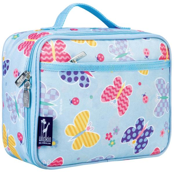Wildkin Olive Kids Butterfly Garden Insulated Lunch Box Bag