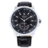 Who Sells Winner F1205292 Male Auto Mechanical Watch Date Display Working Sub Dial Wristwatch Black The Cheapest