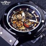 Price Winner Fashion Black Golden Star Luxury Design Clock Mens Watch Top Brand Luxury Mechanical Skeleton Watch Male Wrist Watch Intl China