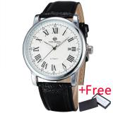 Best Offer Winner Mature Classic Luxury Men S Automatic Mechanical Wrist Watch Leather Strap Big Roman Numbers W Box 278