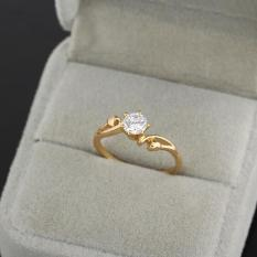 Review Woan 18 Wedding Ring 18K God Fied Vakind On China
