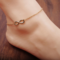 Women Gold Chain Ankle Anklet Bracelet Barefoot Sandal Beach Foot Jewelry Gold