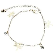 Women Gold Chain Ankle Anklet Bracelet Barefoot Sandal Beach Foot Jewelry Gold - intl