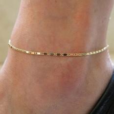 Women Gold Chain Anklet Ankle Bracelet Barefoot Sandal Beach Foot Jewelry Gold - intl