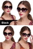 Cheapest Women Oversized Round Sunglasses Outdoor Driving Eyewear Glasses Black Online