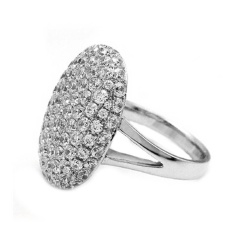 Women Wedding Engagement Ring Crystal Jewelry Size 6-11 Rings Sl/8 - Intl By Joomia.