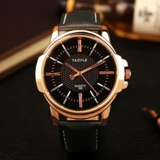 Top 10 Wrist Watch Men Top Brand Luxury Famous Male Clock Quartz Watch Golden Rose Gold Wristwatch Quartz Watch Relogio Masculino Intl