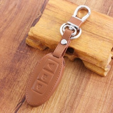 Who Sells Xkp Leather Car Key Cover Case Holder For Nissan Teana X Trail Qashqailivina Sylphy Tiida Sunny March Murano Geniss Juke Brown Intl