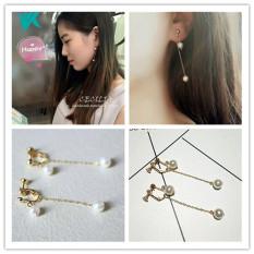 Xiaoya Qingdao Accessories Earrings Elegant Exclusive Simple Pearl Pierceless Clip On Earring Ear