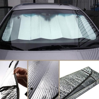 Yika Double - sided car sun block sunscreen supplies insulation aluminum foil sun block summer aluminum foil shade block