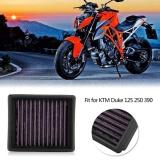 Discount Yosoo Motorcycle Air Cleaner Intake Filter For Ktm Duke 125 250 390 Intl Oem China