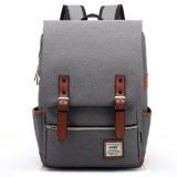 Compare Yslmy Fashion Canvas Men Daily Backpacks For Laptop Large Capacity Computer Bag Casual Student Sch**l Bagpacks Travel Rucksacks Grey Intl