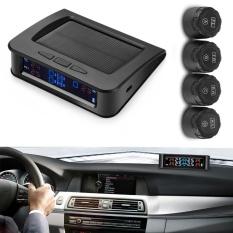 Discount Zeepin C220 Solar Powered Tpms Car Tire Pressure Monitor System 4 External Sensors Intl