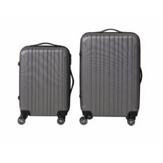 Price Blmg Zenia Trip Luggage 20 24Inch Grey Free Delivery On Singapore