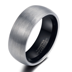 Buy Zuncle Lord Of The Rings Drawing Tungsten Steel Men S Ring Black Silver China