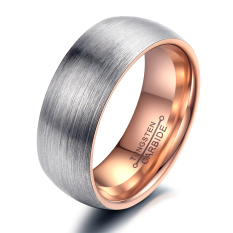 Zuncle Lord Of The Rings Drawing Tungsten Steel Men S Ring Gold Silver For Sale
