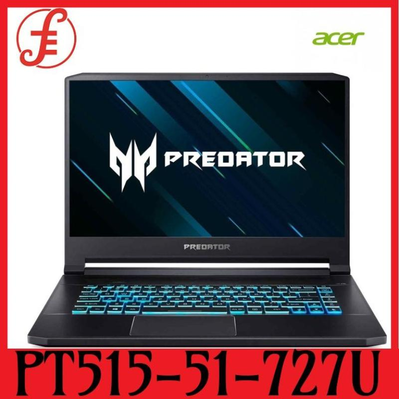 ACER PT515-51-727U PREDATOR TRITON 15.6 IN FHD IPS 144Hz E2E GEFORCE RTX™ 2080 MAX-Q INTEL CORE I7-8750H 32GB 2X512 SSD+1TB HDD WIN 10 (PT515-51-727U)