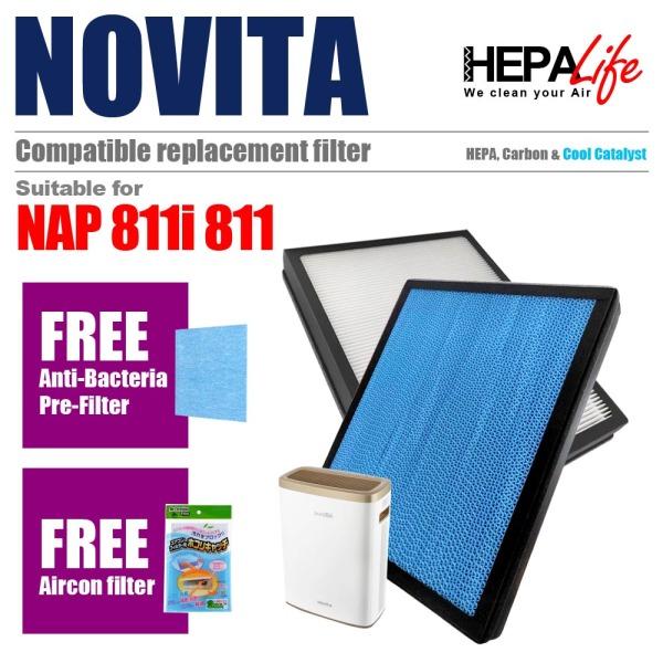 Novita NAP 811i  NAP 811 Compatible Filter - Hepalife Singapore