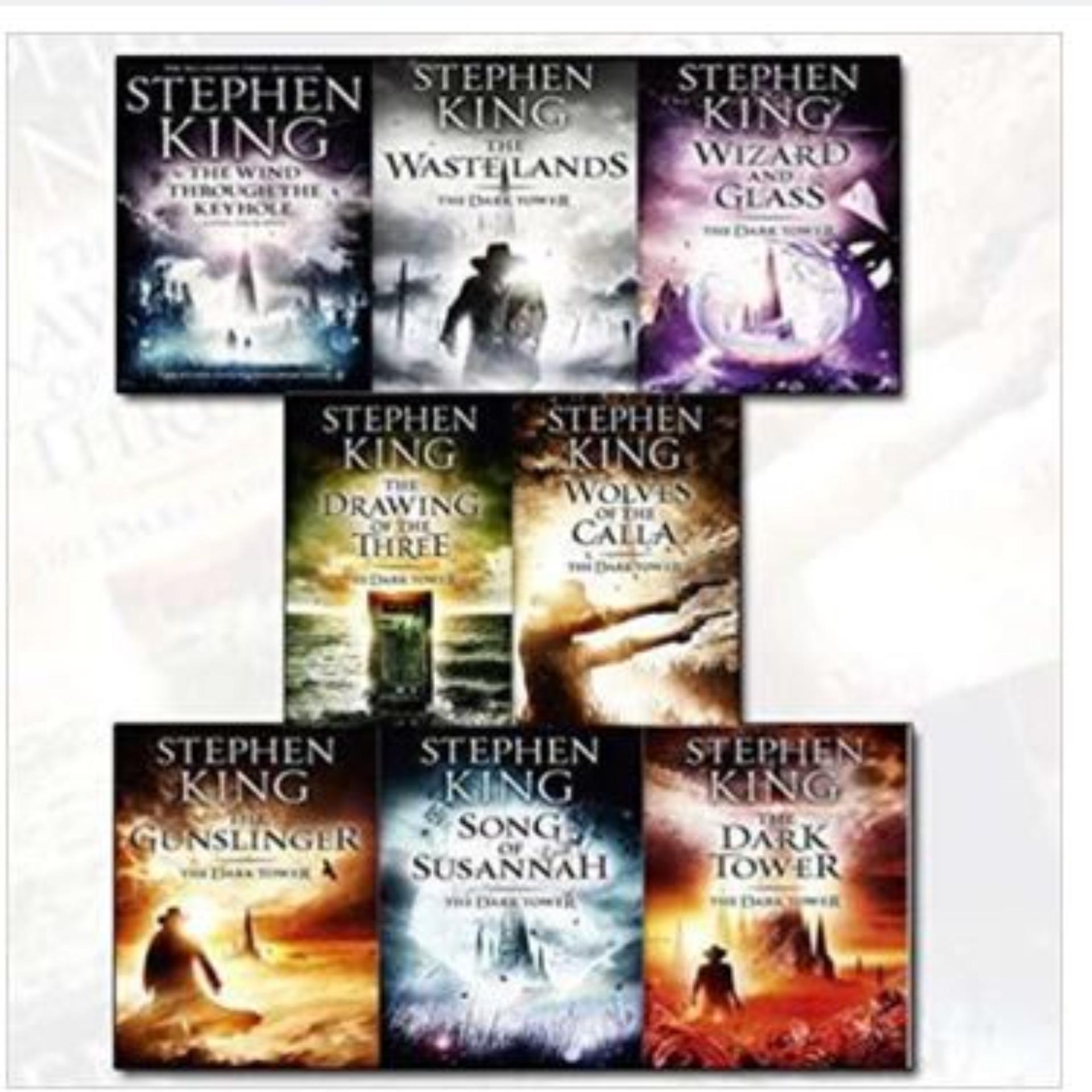 eBook Stephen King Dark Tower Collection 8 Books Set (1 to 8 Books Set)
