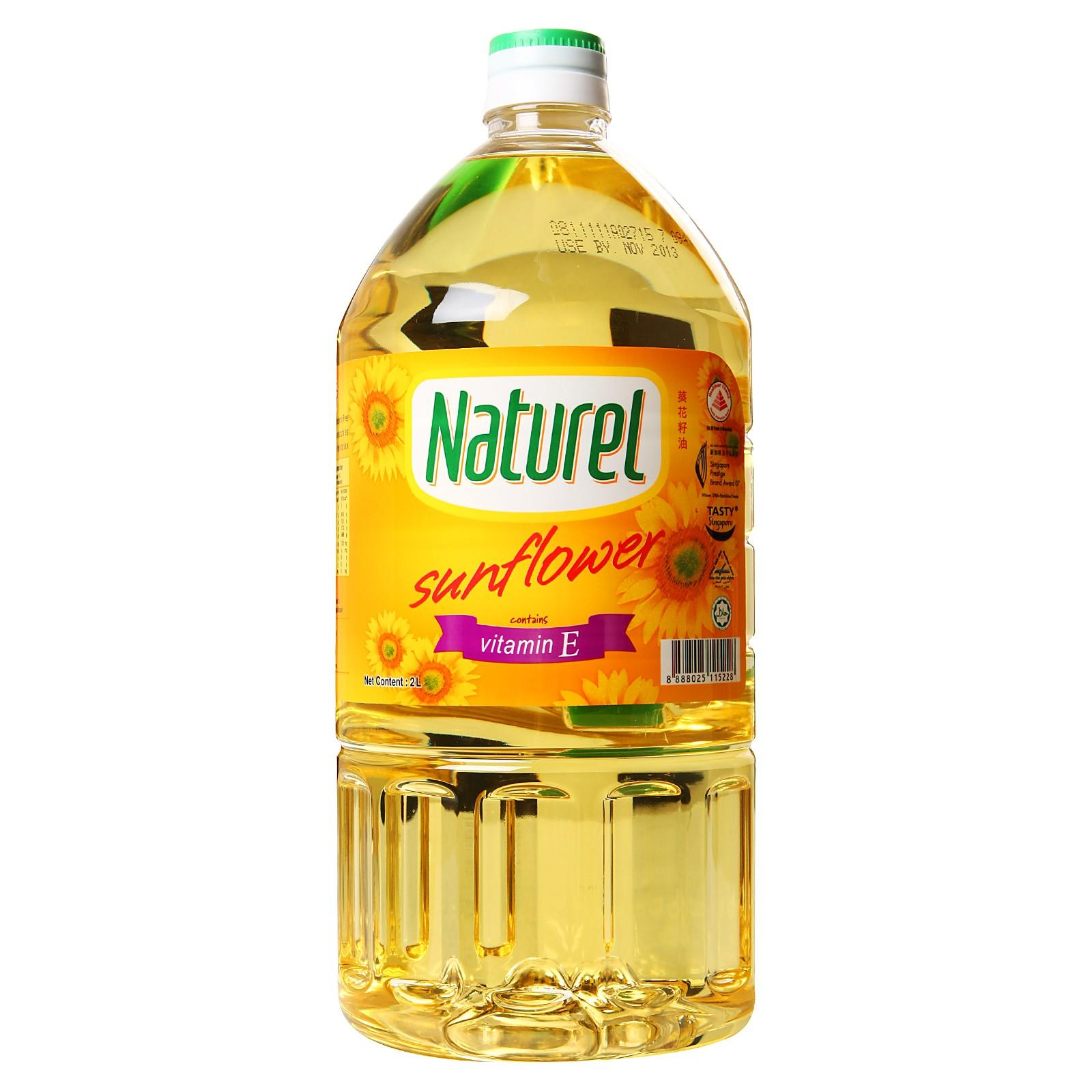 Naturel Sunflower Oil With Vitamin E