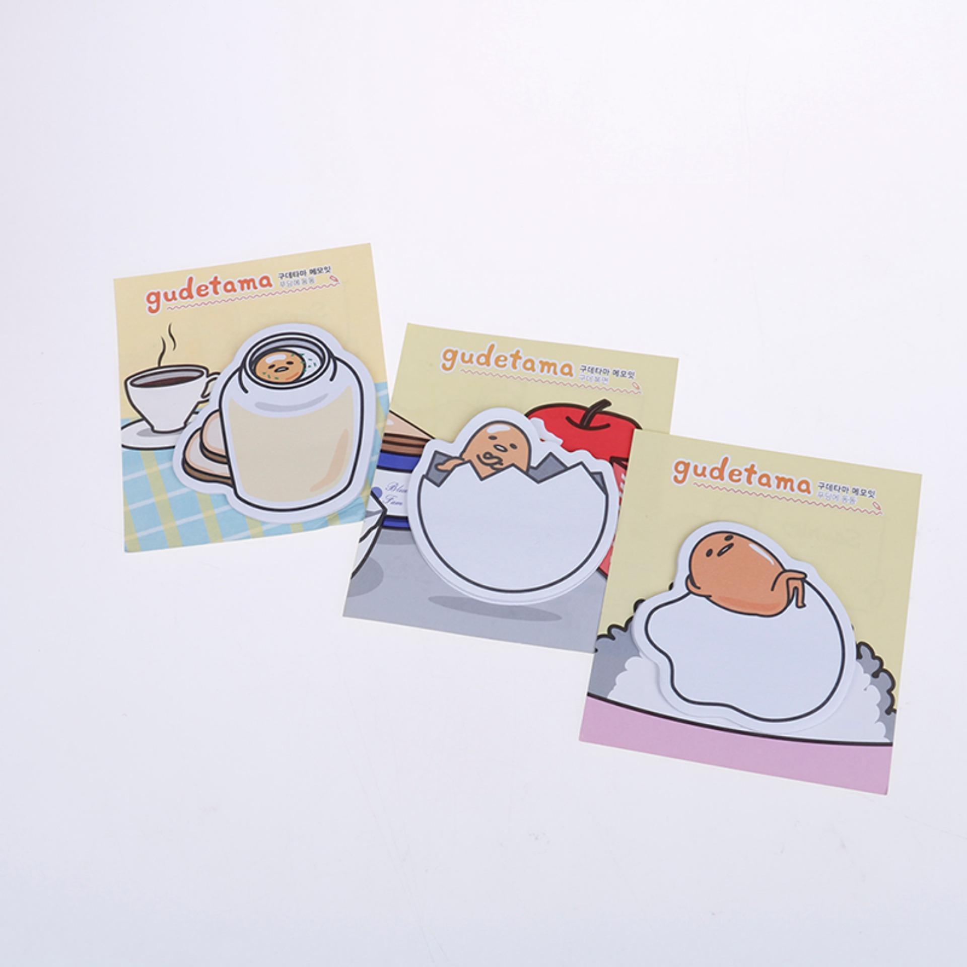 Mua Trứng Chú Memo Pad Note Lập Kế Hoạch Đánh Dấu Trang Miếng Dán Giấy Văn Phòng Phẩm