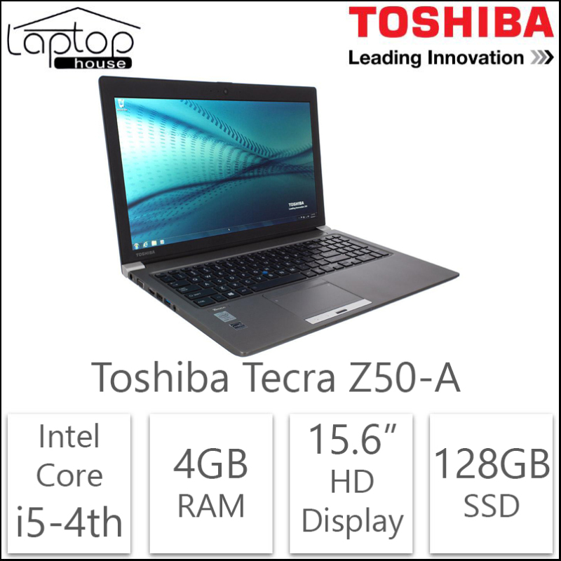 (Refurbished) Toshiba Tecra Z50-A (Intel Core i7-4th Gen/512GB SSD/8GB RAM)